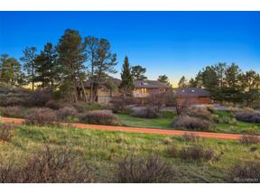 Property for sale at 7500 E Sunset Trail, Parker,  Colorado 80134