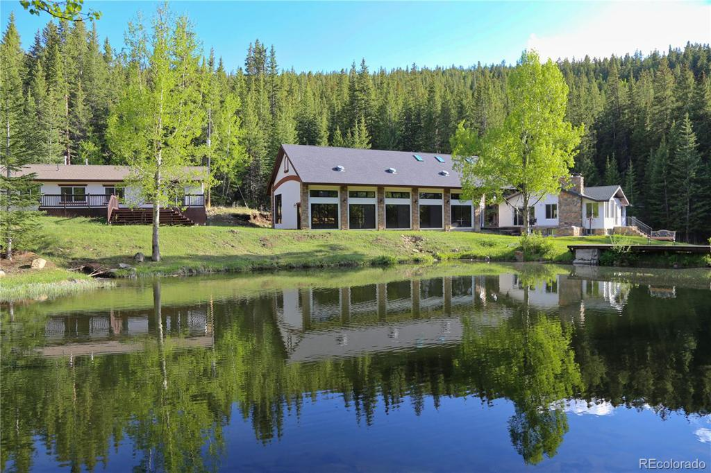 Photo of home for sale at 616 Peaceful Valley Lane, Idaho Springs CO