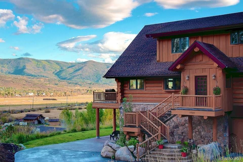 Photo of home for sale at 37045 William William, Steamboat Springs CO