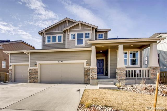 Photo of home for sale at 6905 Titus Street South, Aurora CO