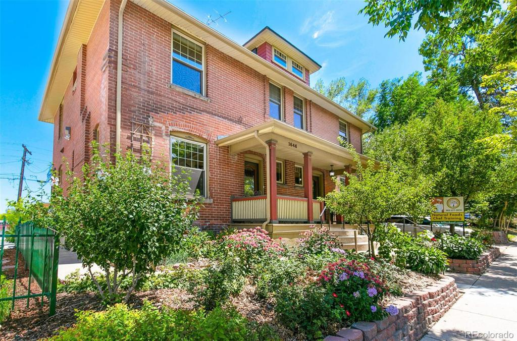 Photo of home for sale at 1646 York Street N, Denver CO