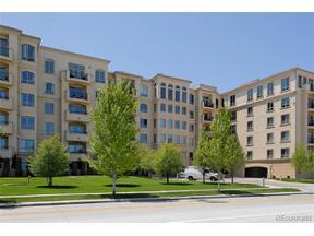 Property for sale at 2500 East Cherry Creek South Drive Unit: 123, Denver,  Colorado 80209
