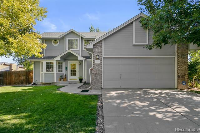 Photo of home for sale at 3289 Espana Circle South, Aurora CO