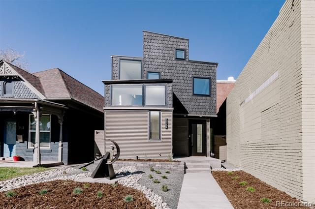 Photo of home for sale at 753 Inca Street, Denver CO