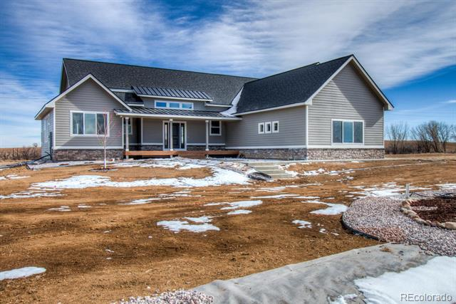 Photo of home for sale at 9440 Meadow Farm Drive, Milliken CO