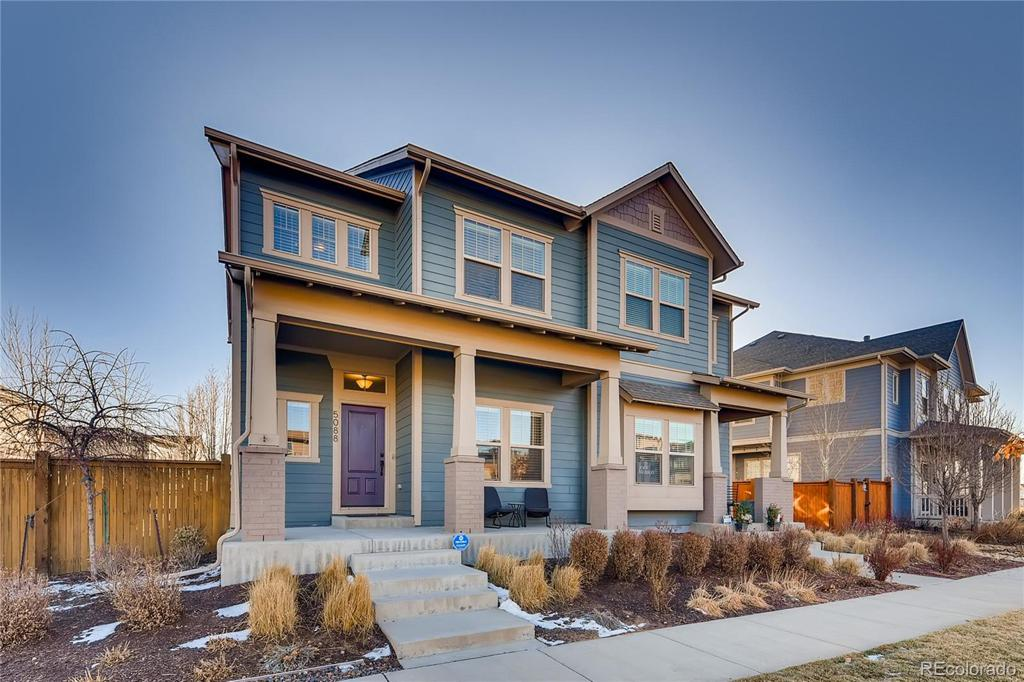 Photo of home for sale at 5088 Verbena Street, Denver CO
