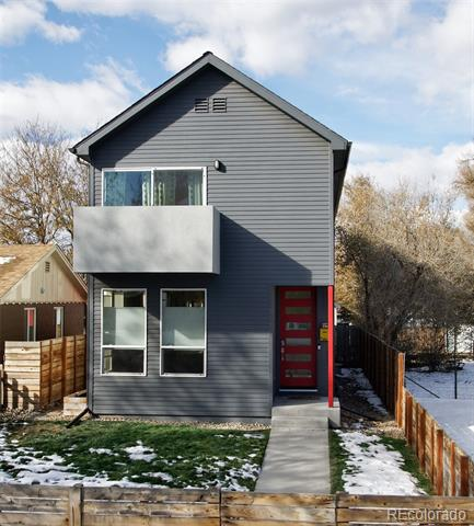 Photo of home for sale at 3621 Cook Street North, Denver CO