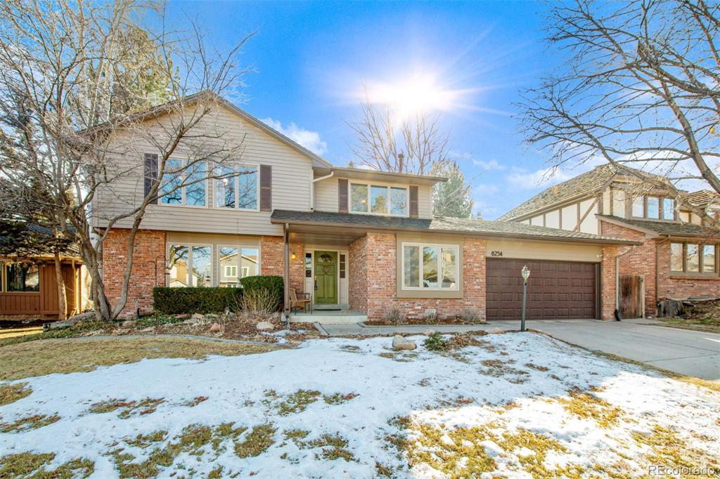 Photo of home for sale at 8254 Lodgepole Trail, Lone Tree CO