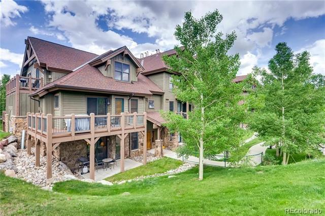 Photo of home for sale at 34 Highfield Trail, Breckenridge CO