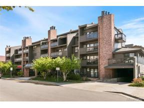 Property for sale at 350 Detroit Street Unit: 213, Denver,  Colorado 80206