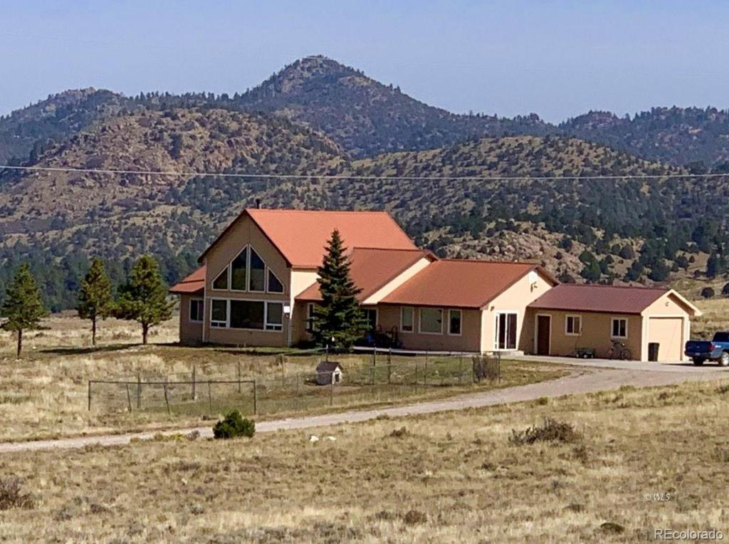 Photo of home for sale at 114 Fairview Road, Silver Cliff CO