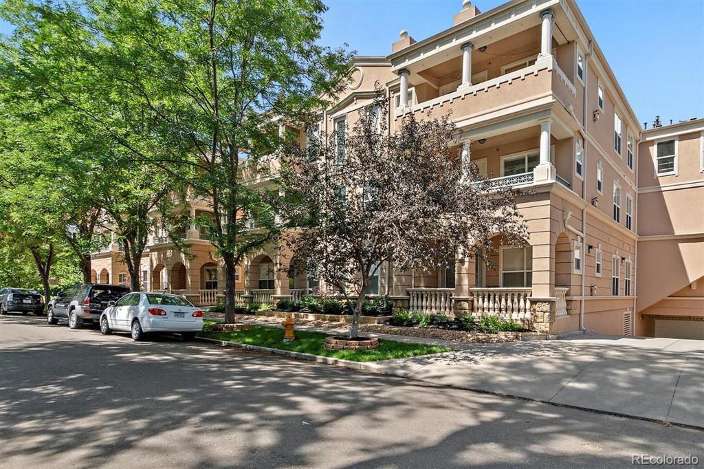 Photo of home for sale at 45 Ogden Street N, Denver CO