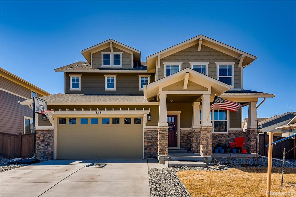 Photo of home for sale at 1853 Griffin Drive, Brighton CO