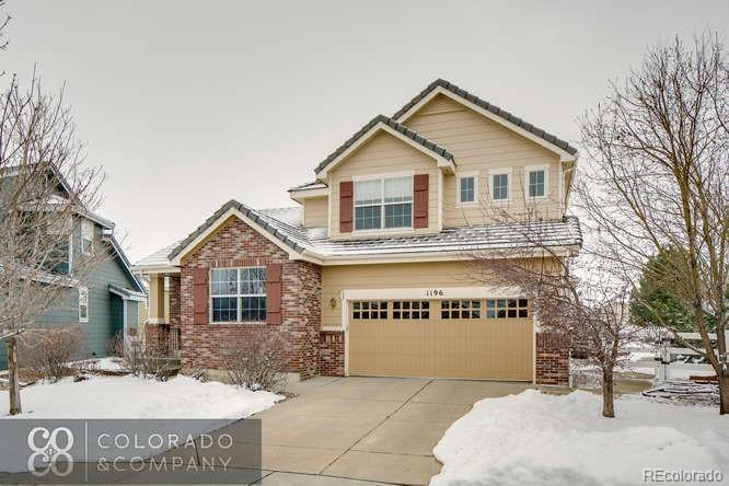 Photo of home for sale at 1196 Duquesne Circle S, Aurora CO