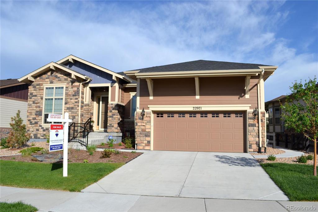 Photo of home for sale at 22971 Del Norte Circle E, Aurora CO