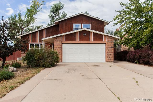 Photo of home for sale at 4702 Dover Drive, Colorado Springs CO
