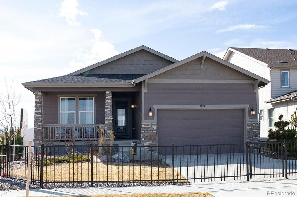 Photo of home for sale at 2199 Barela Drive, Berthoud CO