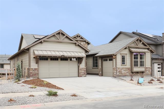 Photo of home for sale at 8361 Arapahoe Peak Street, Littleton CO