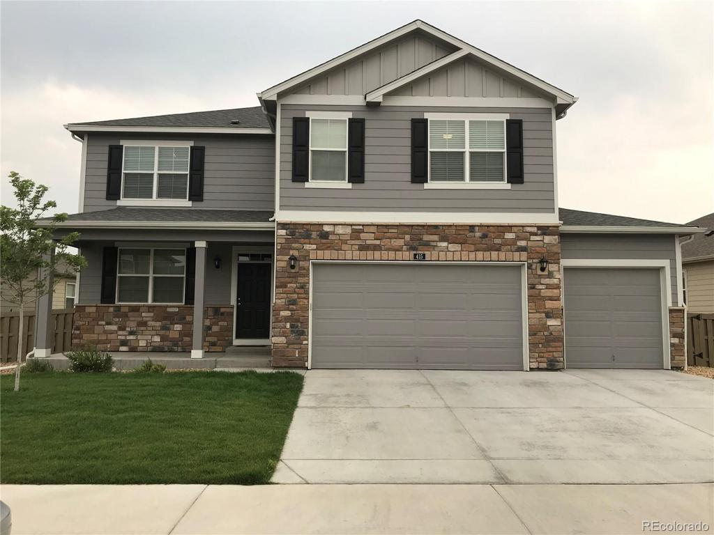 Photo of home for sale at 415 Harrow Street, Severance CO