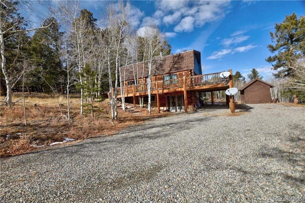 Photo of home for sale at 1962 Redhill Road, Fairplay CO