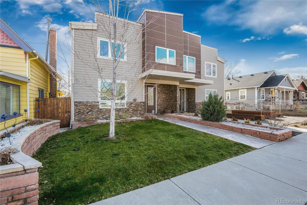 Photo of home for sale at 4176 Yates Street, Denver CO