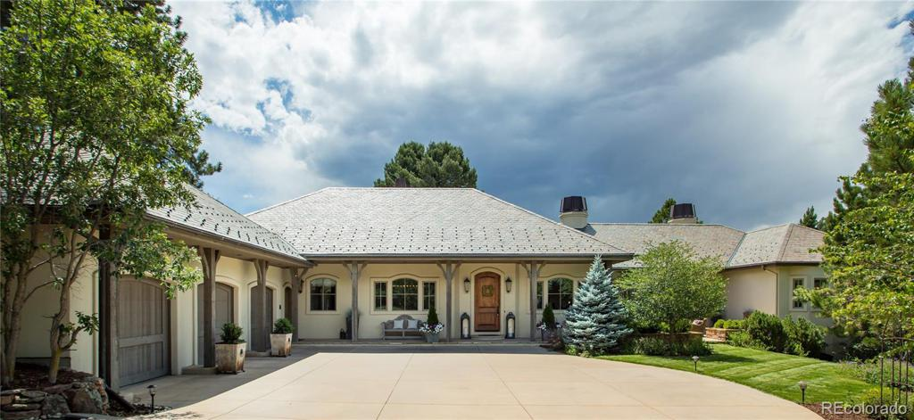 Photo of home for sale at 1082 Country Club Estates Drive, Castle Rock CO