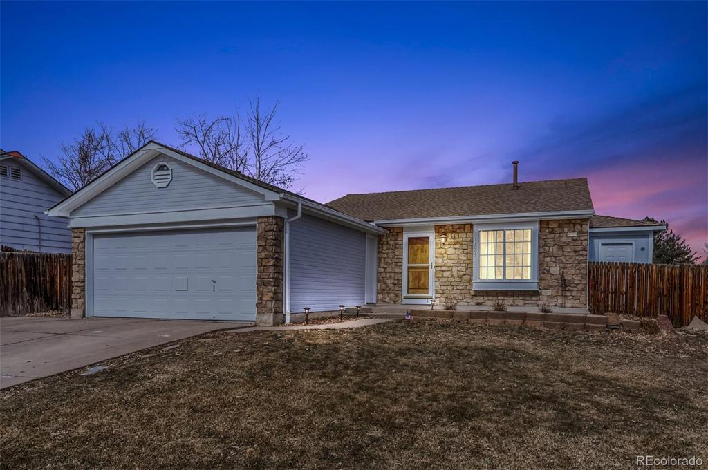 Photo of home for sale at 11095 Bowles Place W, Littleton CO