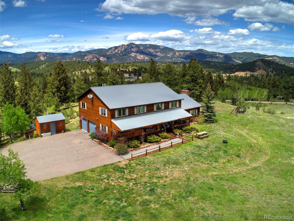 Photo of home for sale at 14254 Wandcrest Park Road, Pine CO