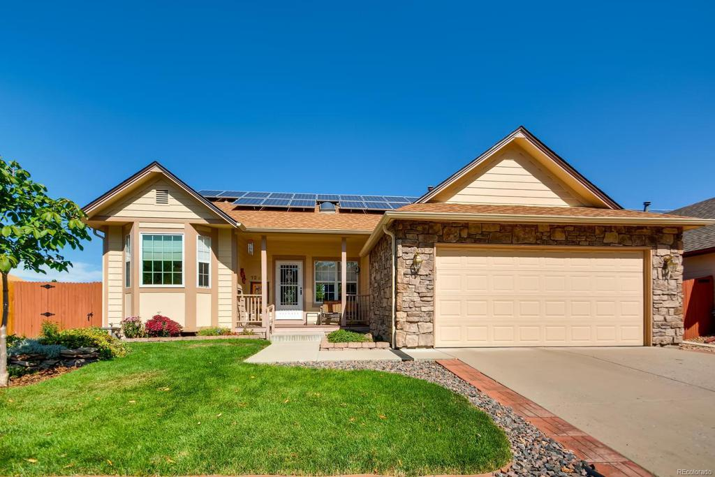 Photo of home for sale at 12255 Chenango Drive W, Morrison CO