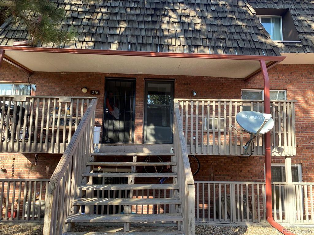 Photo of home for sale at 5491 Warren Avenue E, Denver CO