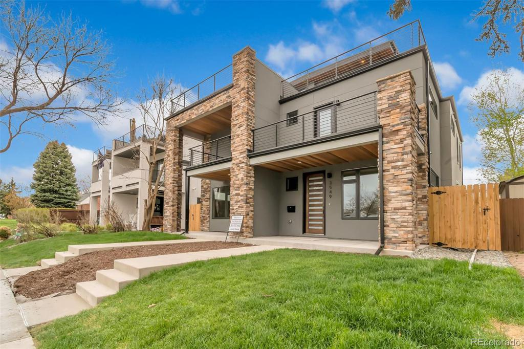 Photo of home for sale at 3549 Vallejo Street N, Denver CO