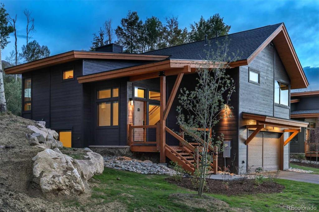 Photo of home for sale at 124 Vendette Road, Silverthorne CO
