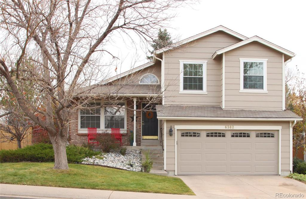 Photo of home for sale at 6382 Freeport Drive, Highlands Ranch CO