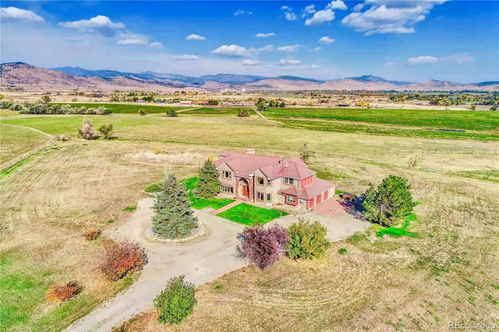 Photo of home for sale at 6333 Saint Vrain Road, Longmont CO