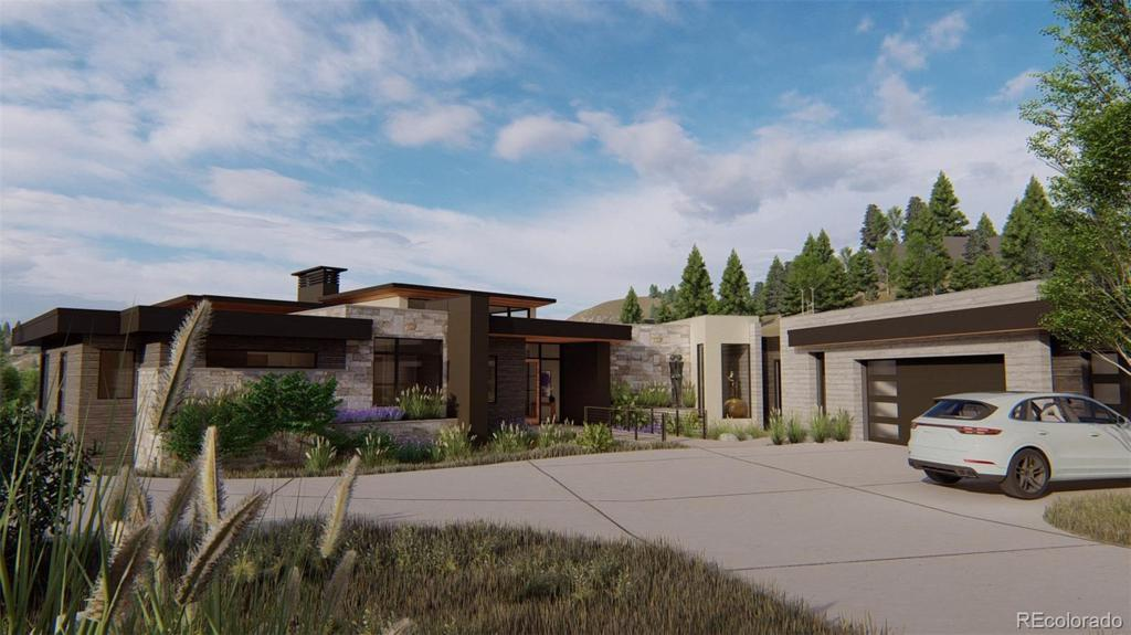 Photo of home for sale at 545 Strada Rossa Road, Golden CO
