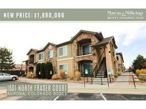 Property for sale at 1601 Fraser Court, Aurora,  Colorado 80011