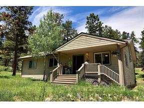 Property for sale at 33903 Martin Road, Pine,  Colorado 80470