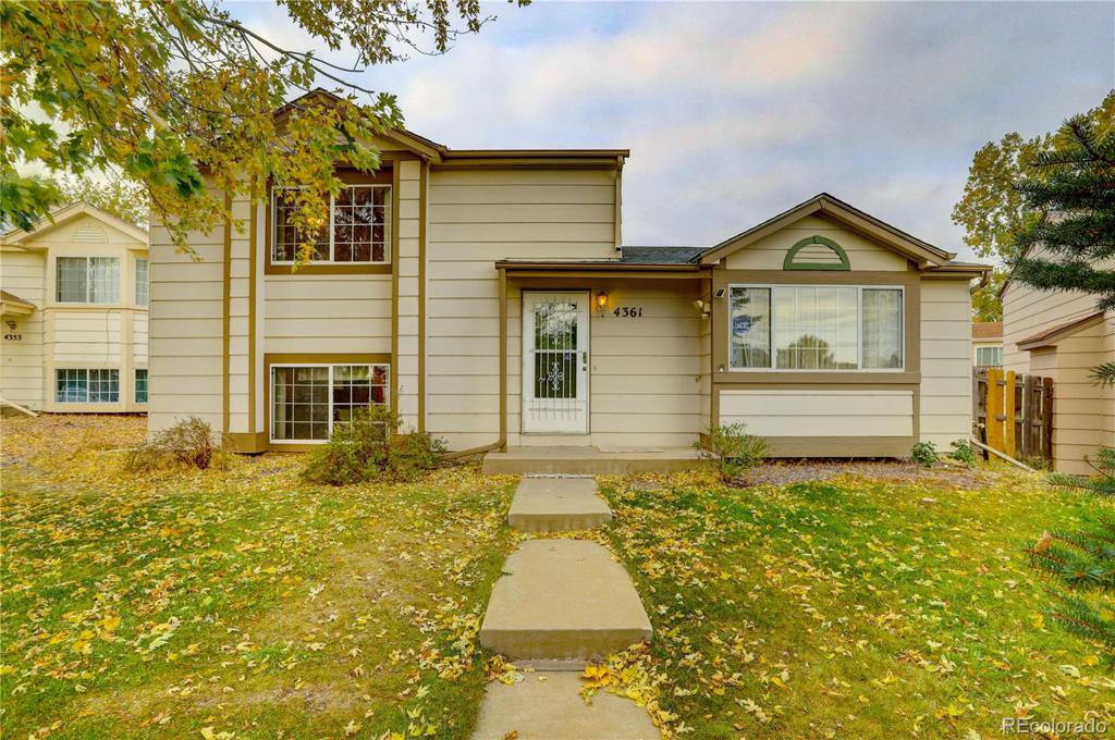 Photo of home for sale at 4361 Netherland Street, Denver CO