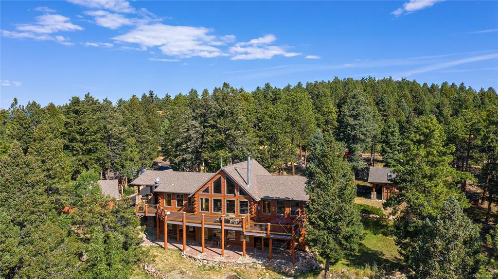 Photo of home for sale at 13472 Riley Peak Road, Conifer CO