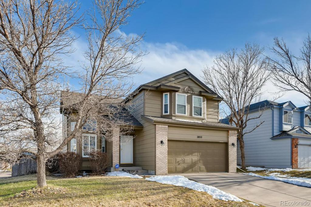 Photo of home for sale at 2852 Salida Court S, Aurora CO