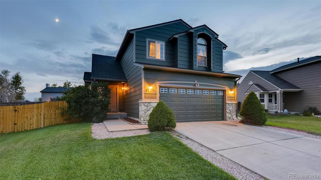Photo of home for sale at 3236 Waverly Lane, Colorado Springs CO