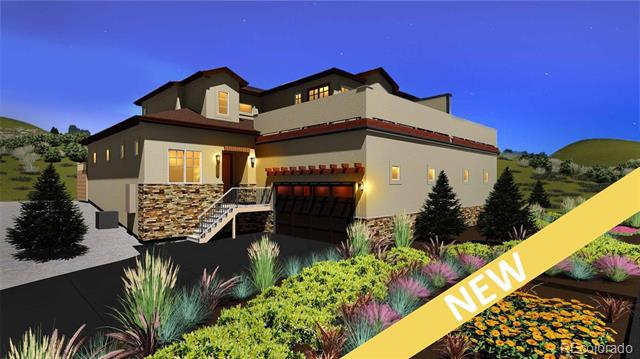 Photo of home for sale at 4493 Echo Cliff Lane, Larkspur CO