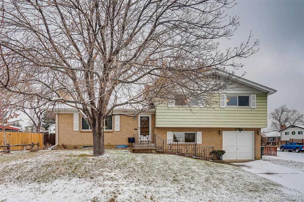 Photo of home for sale at 9853 Alamo Drive, Northglenn CO