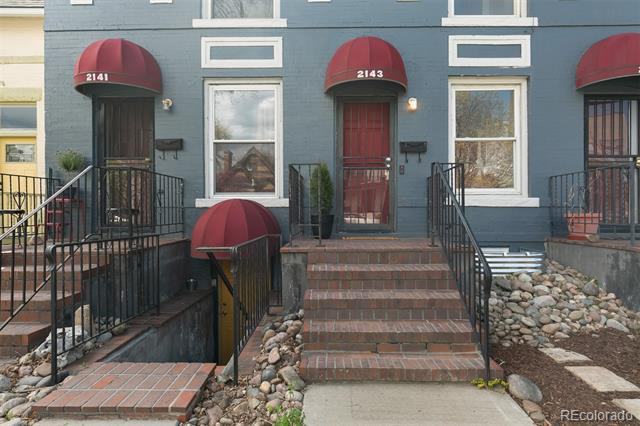 Photo of home for sale at 2143 Marion Street North, Denver CO