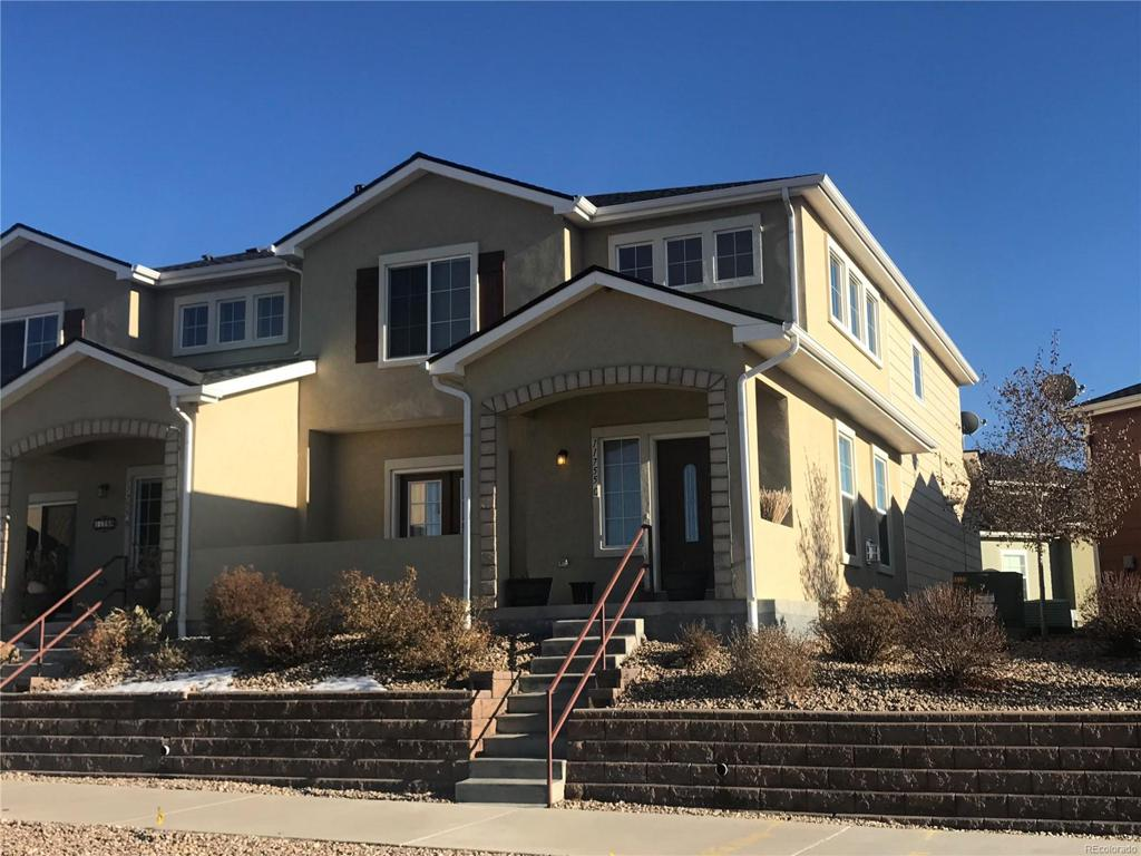 Photo of home for sale at 11755 Crestop Way, Parker CO