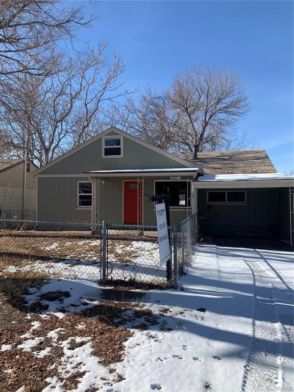 Photo of home for sale at 5355 Newton Street, Denver CO