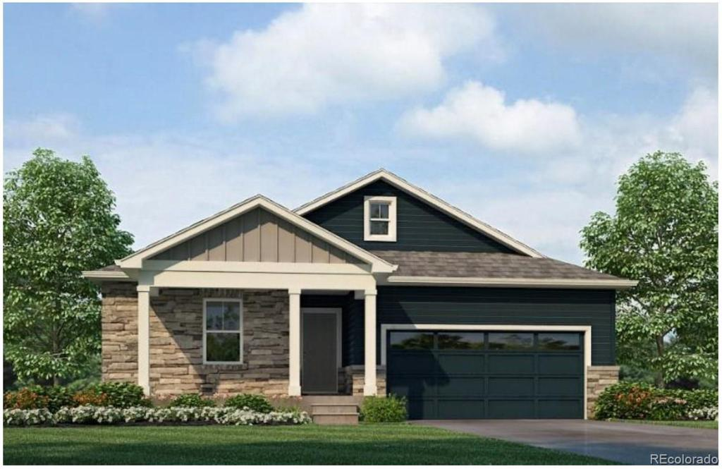Photo of home for sale at 4858 Trails Edge Lane, Castle Rock CO