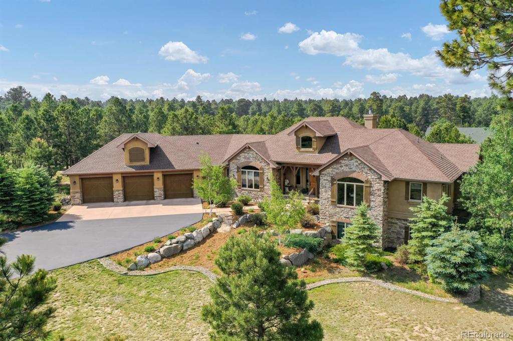 Photo of home for sale at 3941 Mountain Dance Drive, Colorado Springs CO