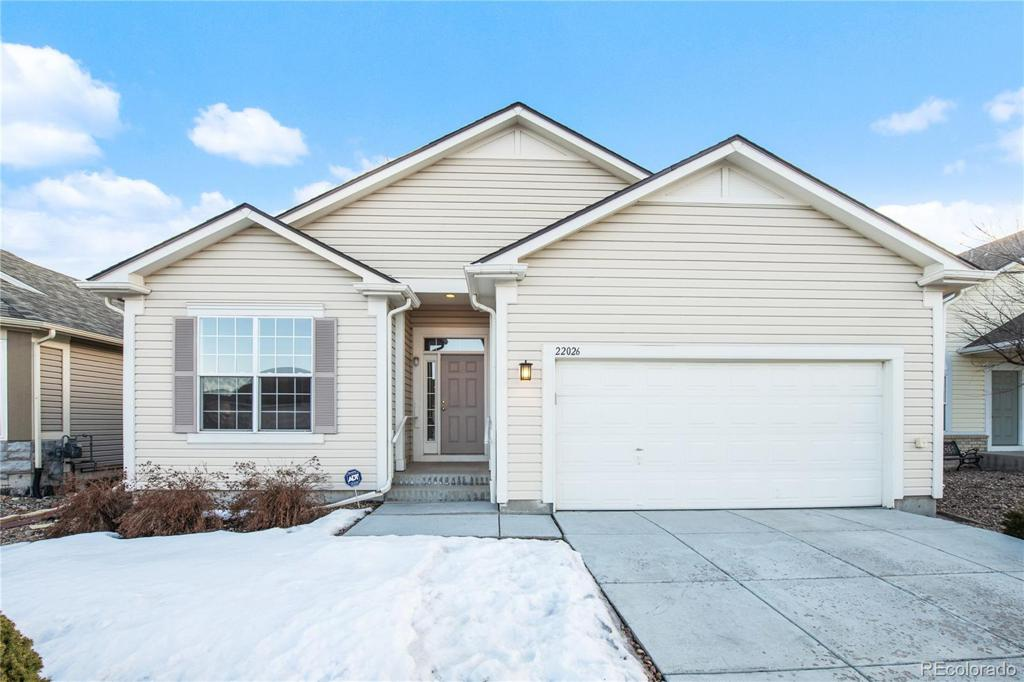 Photo of home for sale at 22026 Hill Gail Way, Parker CO