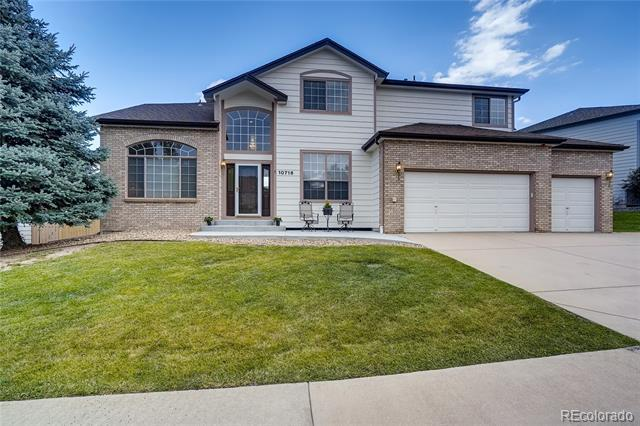Photo of home for sale at 10716 Marcott Street, Parker CO
